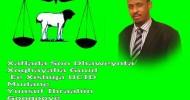 Ogeysiis Ogeysiis:  Xaflada Soo Dhaweynta Xoghayaha Guud Ee  Xisbiga UCID  03/04/2016 :