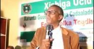 Haddii Xisbiga UCID Xukunka Qabto Laguma Wada Hadli Doono Qadiyada Somaliland Cid Walba Waanu Aamusiin Doonaaa.