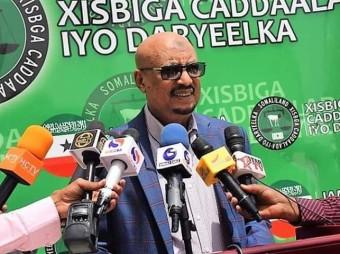 """Guddoomiyaha Xisbiga Ucid Mudane Eng Faysal Cali Xuseen oo kahadlayay wararka sheegaya imaatinka madaxweynaha Somaliya Farmaajo  ee Hargeysa ayaa yidhi sidan . """""""