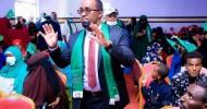 SAWIRO: Munaasibadii Shaacinta Murashaxiinta Xisbiga UCID ee Gobolka Sool ayaa maanta ka dhacday magaalada Laascaanood.