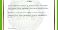 PRESS RELEASE: CONGRATULATIONS TO H.E. HAKAINDE<br>HICHILEMA AS PRESIDENT-ELECT OF THE REPUBLIC OF ZAMBIA.