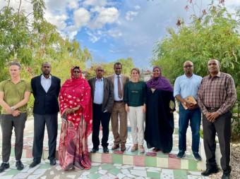 Masuuliyiinta Xisbiga UCID oo uu Hogaaminayo Xoghayaha Guud ee Xisbiga UCID Xildhibaan Cumar Jaamac Faarax, ayaa maanta Hargaysa kulan kula yeeshay Ergayga gaarka ah ee dalka Norwey u qaabilsan Somaliland iyo Somalia Marwo: Heidi Johansen.